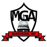 madison mga logo mediocre golf association